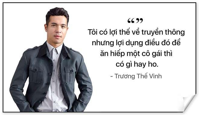 Truong The Vinh: 'An hiep ban gai cu thi co gi hay ho' hinh anh 1