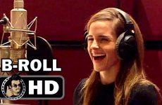 BEAUTY AND THE BEAST Voice B-Roll Bloopers Footage (2016) Emma Watson Disney Movie HD